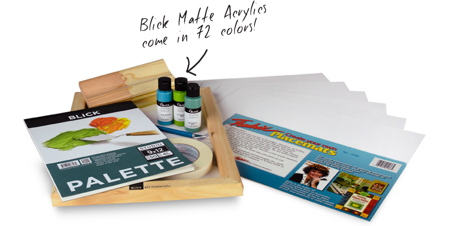 Art supplies from dick blick art materials
