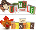 Double Sided Holiday Blocks