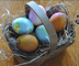 Marbleized Easter Eggs