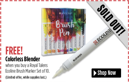 Buy Ecoline 10 Ct and get free colorless blender