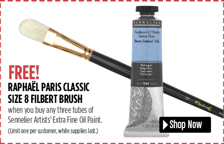 paris classic filbert brush