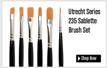 Utrecht Series 235 Salette Brushes Set