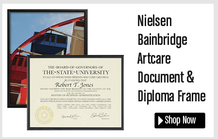 Nielsen Bainbridge Artcare Document/Diploma Frame