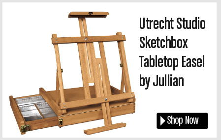 Utrecht Sketch Box Table Top Easel