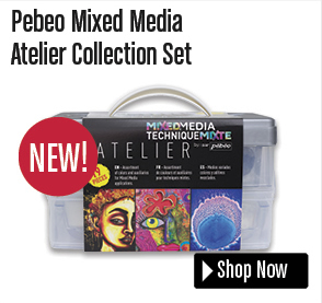 Pebeo Mixed Media Atelier Collection Set
