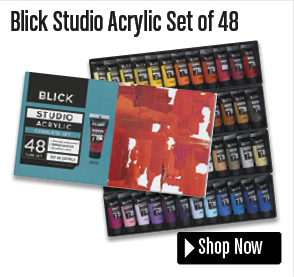 Blick Studio Acrylic Set of 48