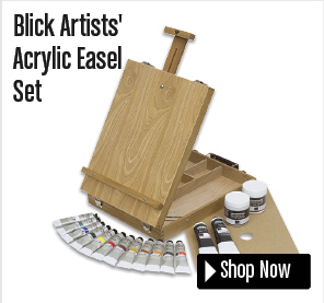 Blick Artists' Acrylic Easel Set