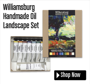Williamsburg Handmade Oil Landscape Set