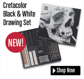 Cretacolor Black & White Drawing Set