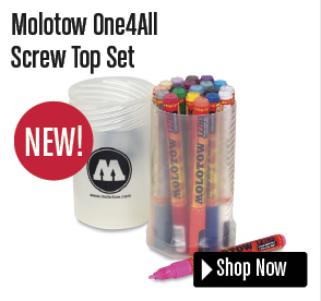 Molotow One4All Screw Top Set