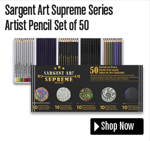 Sargent Art Supreme Series Artist Pencil Set of 50
