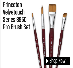 Princeton Velvetouch Brush Set