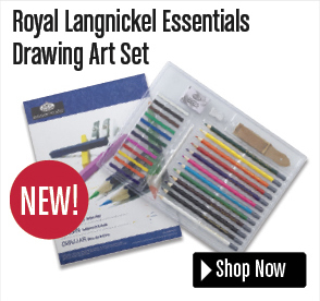 Royal Langnickel Essentials Drawing Art Set