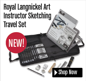 Royal Langnickel Art Instructor Sketching Travel Set