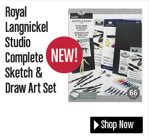 Royal Langnickel Studio Complete Sketch & Draw Art Set