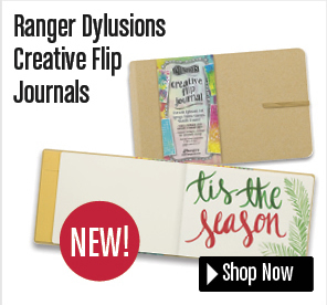 Ranger Dylusions Creative Flip Journals