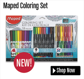 Maped Coloring Set