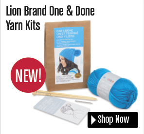Lion Brand One Done Yarn Kits