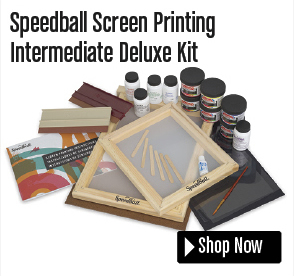 Speedball Screen Printing Intermediate Deluxe Kit