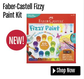 Faber-Castell Fizzy Paint Kit
