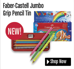 Faber-Castell Jumbo Grip Pencil Tin