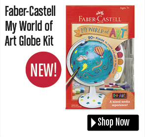 Faber-Castell My World of Art Globe Kit