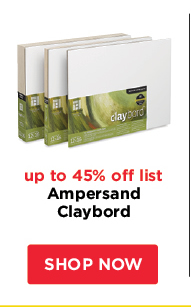 Ampersand Claybord- up to 45% off list