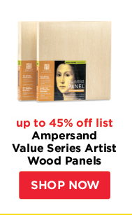 Ampersand Value Series Artist Wood Panels- up to 45% off list