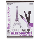 Borden & Riley Paris Bleedproof Paper For Pens