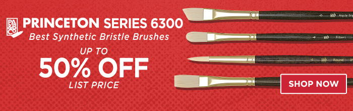 Featured Product: Princeton Series 6300 Best Synthetic Bristle Brushes