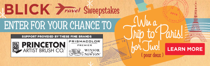 Blick Travel Sweepstakes