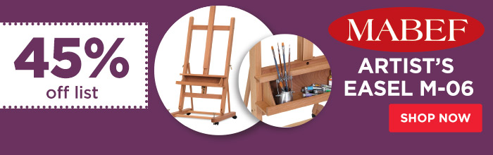 Featured Product: Mabef Artist's Easel M-06