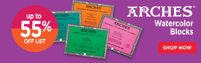 Featured Product: Arches Watercolor Blocks