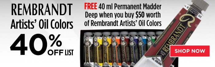 Featured Product: Rembrandt Artists' Oil Colors