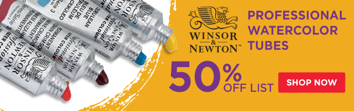 Featured Product: Winsor & Newton Professional Watercolor Tubes