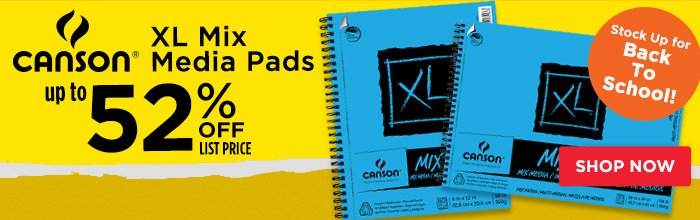 Featured Product: Canson XL Mix Media Pads