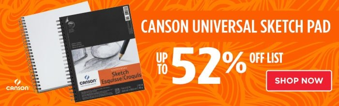 Featured Product: Canson Universal Sketch Pad