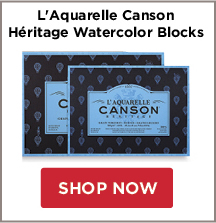 LAquarelle Canson Heritage Watercolor Blocks