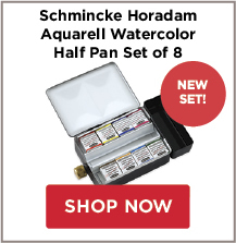 Schmincke Horadam Aquarell Watercolor Half Pan Set of 8