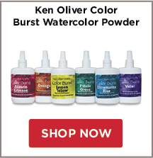 Ken Oliver Color Burst Watercolor Powder