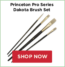 Princeton Pro Series Brush Sets: Dakota