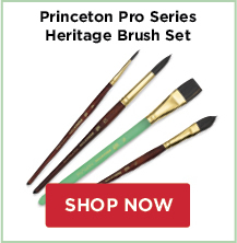 Princeton Pro Series Brush Sets: Heritage