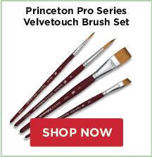 Princeton Pro Series Brush Sets: Velvetouch