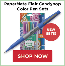 PaperMate Flair Candypop Color Pen Sets