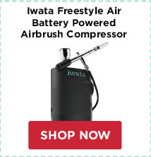 Iwata Freestyle Air Battery Powered Airbrush Compressor