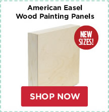 American Easel Wood Painting Panels