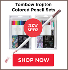 ombow Irojiten Colored Pencil Sets