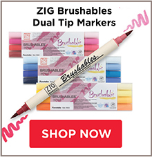 Zig Brushables Dual Tip Markers