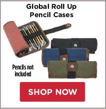 Global Roll Up Pencil Cases