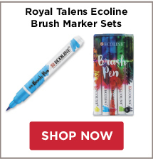 Royal Talens Ecoline Brush Markers